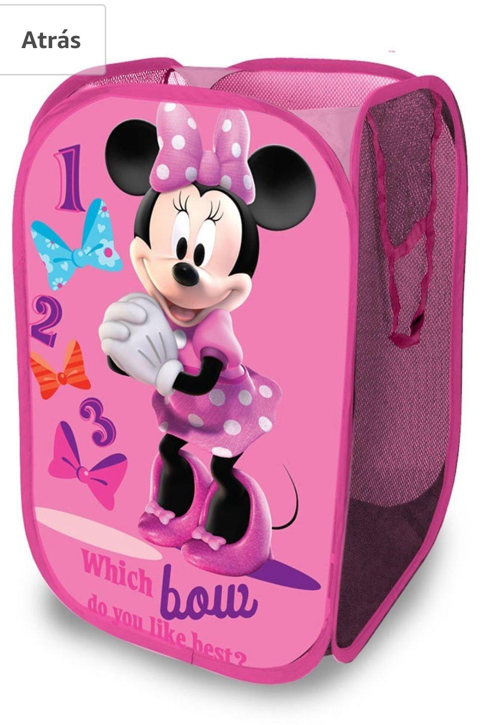 Amazon México: Contenedor para ropa sucia o juguetes de Minnie Disney