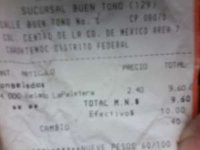 Chedraui: $2.40 Helado La Paletera en (Visto en el DF)