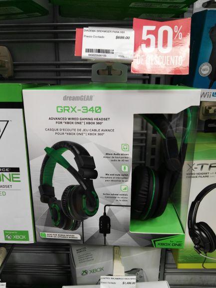 Radioshack: Diadema dreamgear para Xbox y PS con el 50% de descuento
