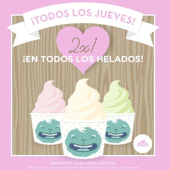 Moyo Frozen Yoghurt: 2x1 todos los jueves