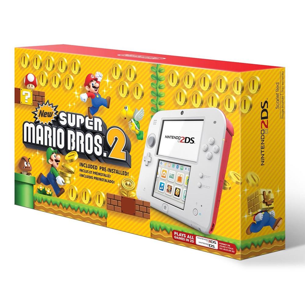 Elektra en línea: Nintendo 2DS + New Super Mario Bros 2 (Precio con cupón y MercadoPago)