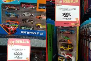 Walmart: Hot Wheels $59 y $99