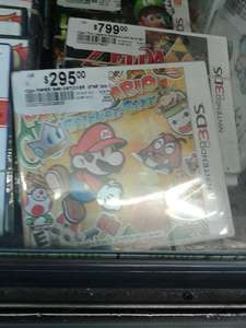 Chedraui: Paper Mario 3ds $295