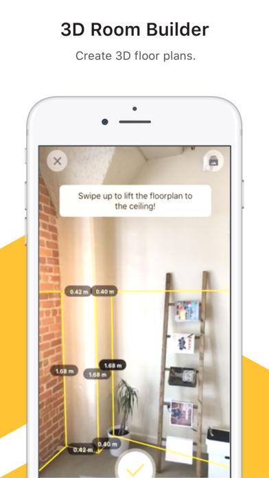 AppStore: TapMeasure GRATIS - utilidad de AR