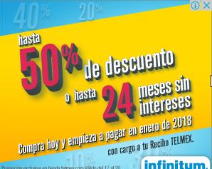 Ofertas El Buen Fin 2017 en Telmex: hasta 50% o 24 meses sin intereses