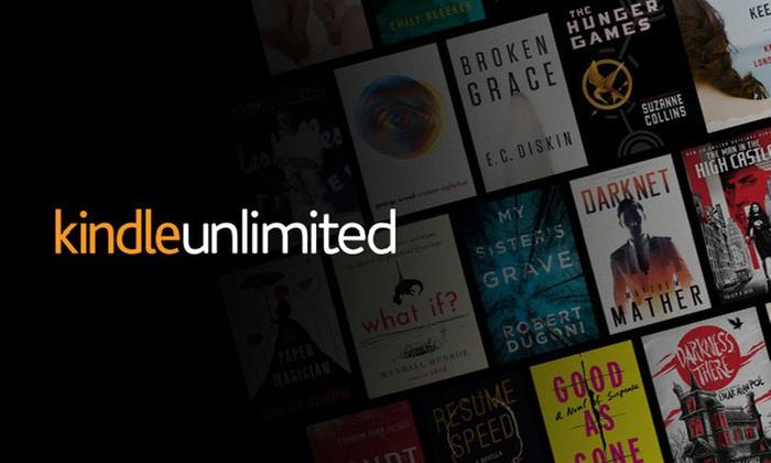 Groupon USA: 60 días de Amazon Kindle Unlimited GRATIS