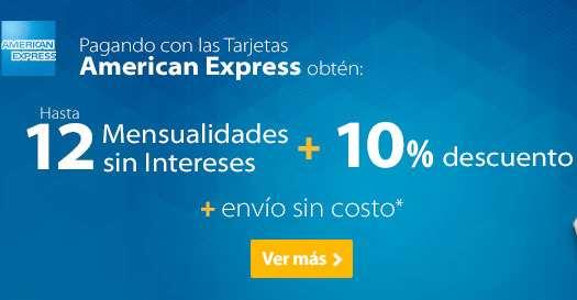 Walmart: 10% de descuento con American Express