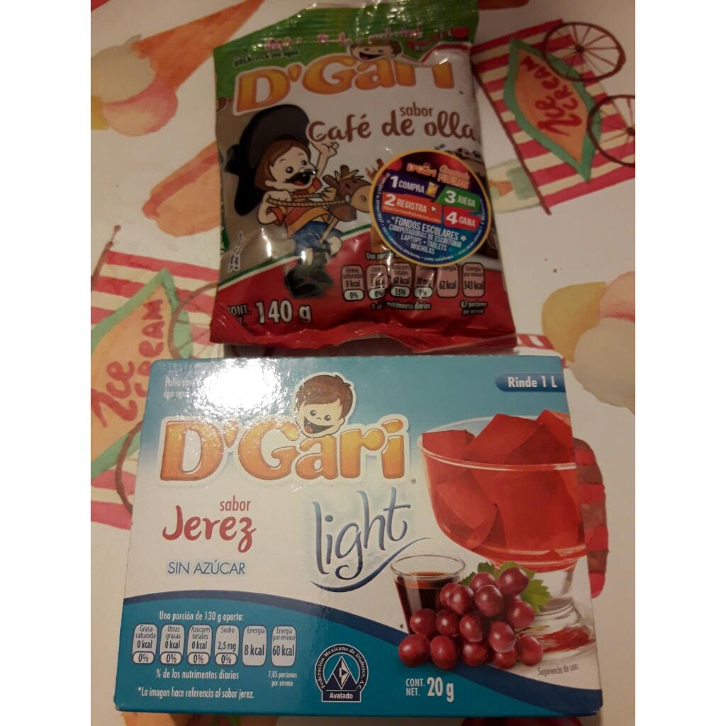 Bodega Aurrerá: gelatina D'gari a $4.02