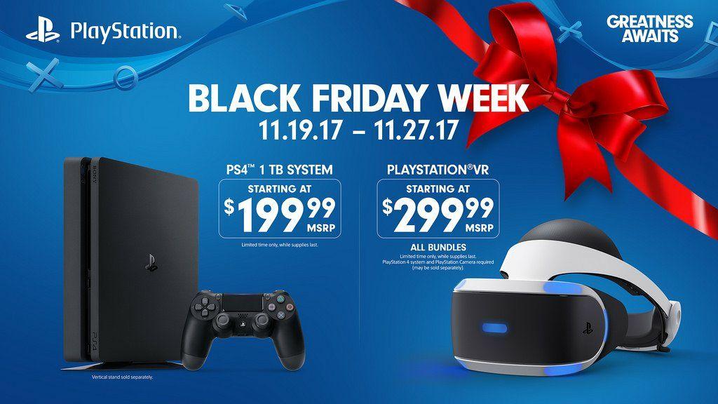 Ofertas Black Friday 2017: PS4 a 199 dólares en tiendas de USA