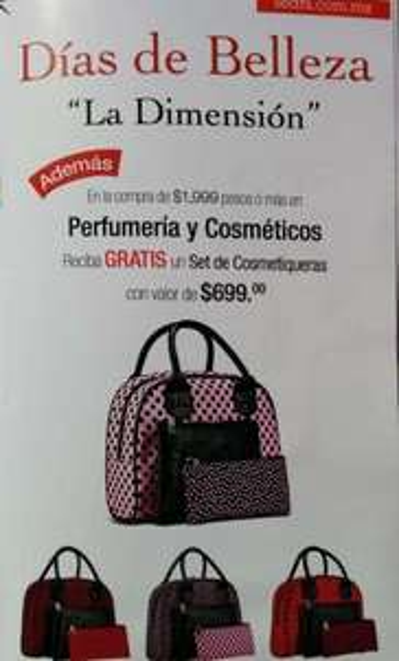 Días de belleza Sears: varios regalos con compras participantes