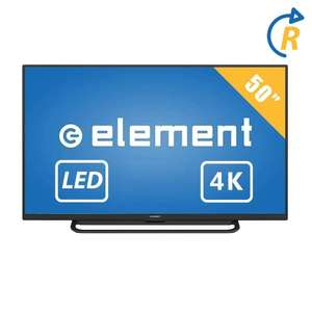 Walmart: TV Element 50 Pulgadas 4K Ultra HD LED E4SFC5017 Reacondicionada