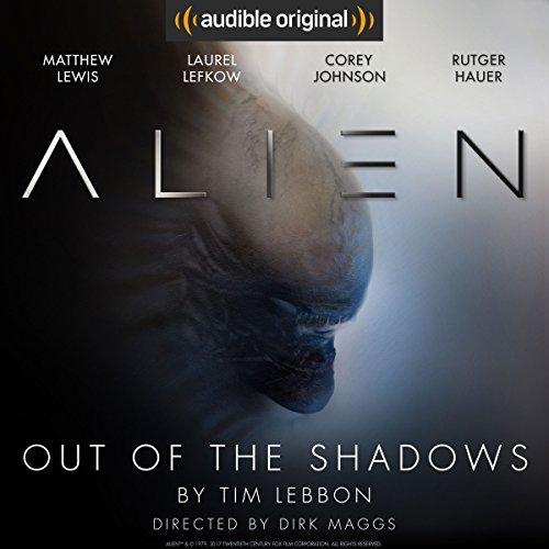 """Amazon USA, audiolibro """"Alien, Out of the Shadows"""" gratis."""