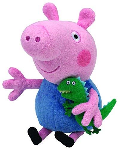 Amazon MX: Peluche de George Pig con dinosaurio