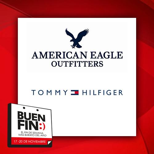 Ofertas del Buen Fin 2017 en American Eagle, Tommy Hilfiger, Studio F y más