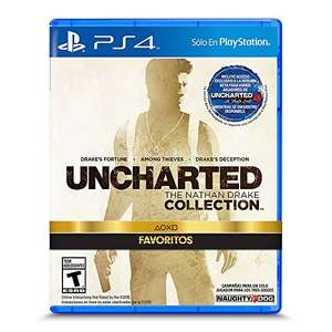 Amazon: Uncharted Collection para PS4 a $340