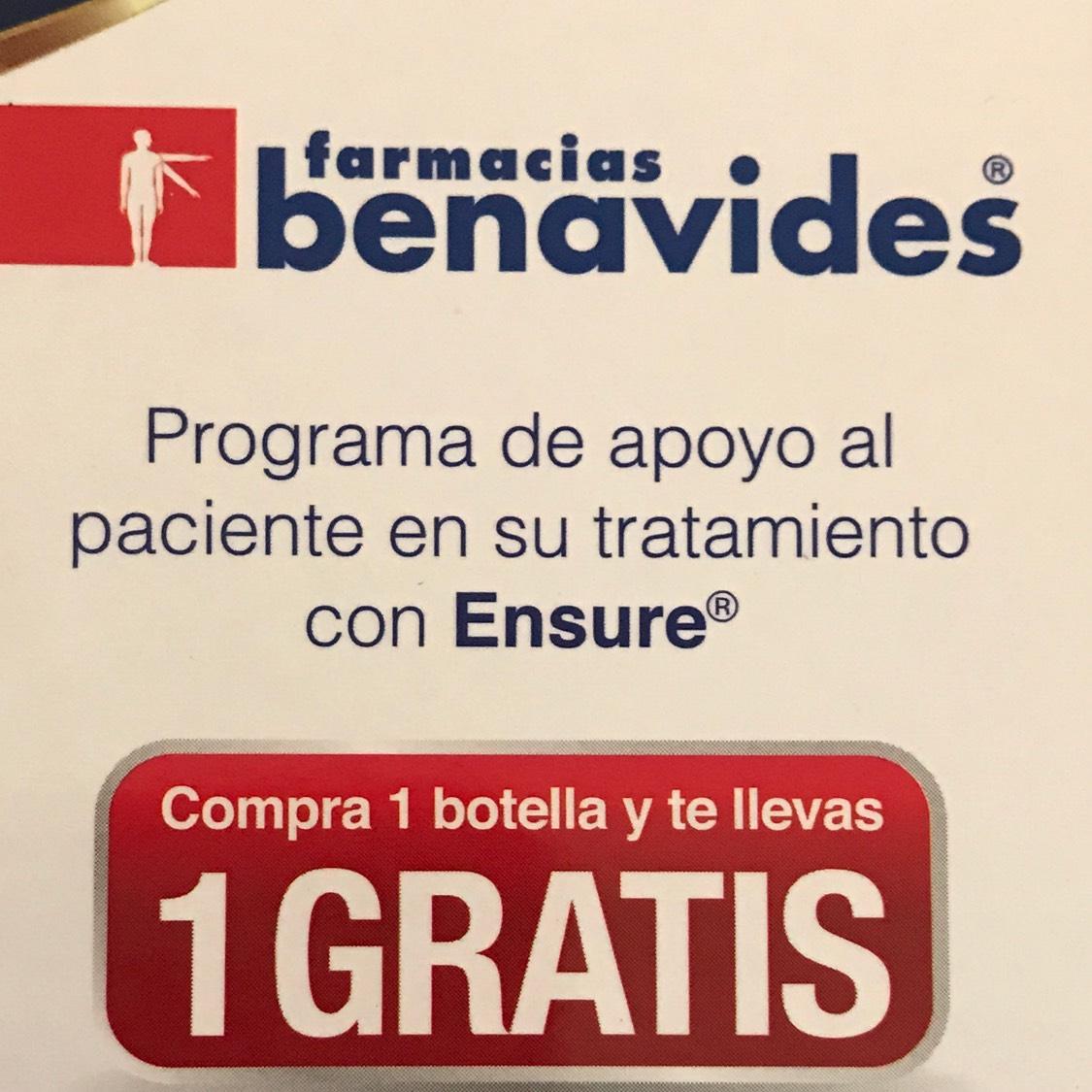 Farmacias Benavides: Ensure 2x1  ($24 c/u)