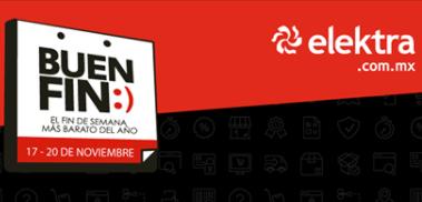 Elektra: promociones Buen Fin 2017 con PayPal, MercadoPago, Saldazo y American Express