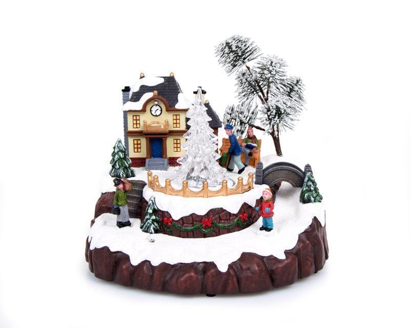 Coppel: Villa Navideña Starhaus Holidays Pista decon luces $429 a $139 y más