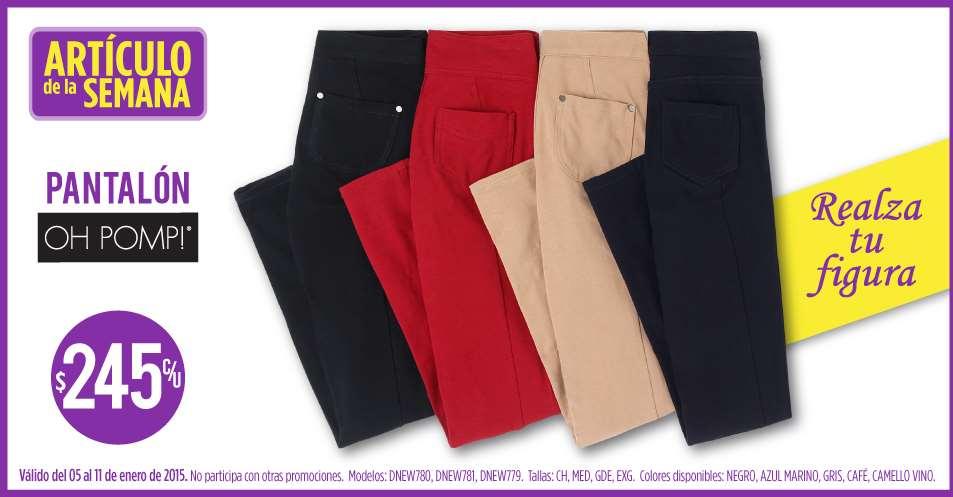 Suburbia: pantalón para mujer $245
