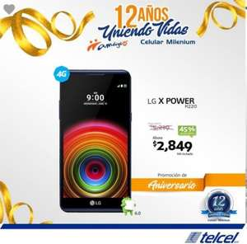 Telcel: LG X Power K220