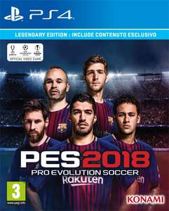 Gameplanet: Pro Evolution Soccer 2018 (PS4)