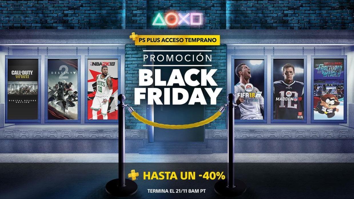 PlayStation Store: Promoción Black Friday