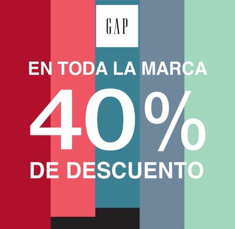 El Buen Fin 2017: Gap y Banana Republic 40%