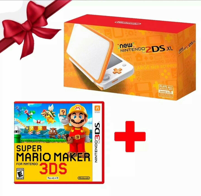 Tienda Oficial Nintendo MercadoLibre: New Nintendo 2DSXL + Mario Maker