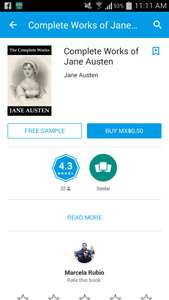 Google Play: Complete Works of Jane Austen