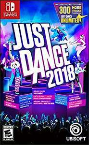 Amazon: Just Dance 2018 Nintendo Switch, PS4, Xbox One
