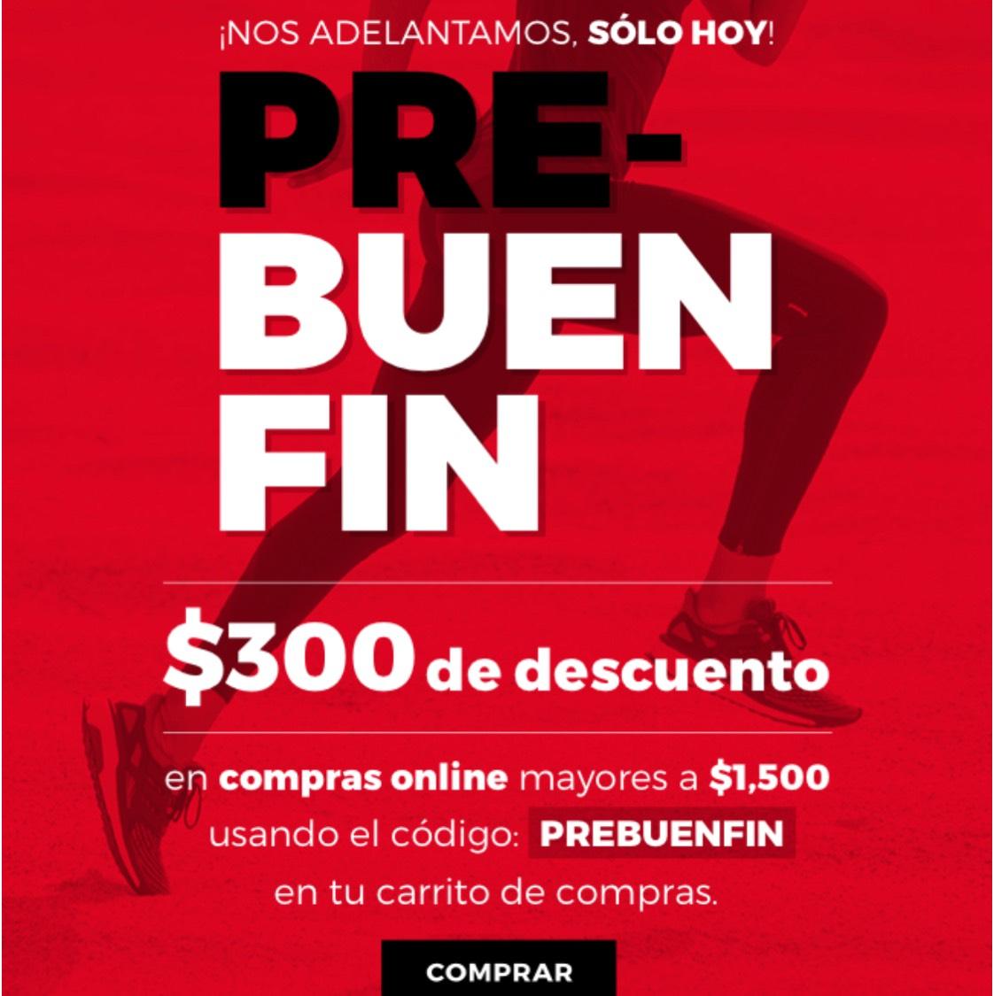 Ofertas Pre Buen Fin 2017 Innova Sport: cupón de $300 de descuento