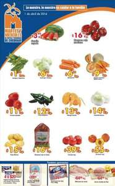 Ofertas de frutas y verduras en Chedraui abril 1 y 2: sandía $3.90 el kilo y más