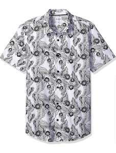 Amazon: Camisa Guess Palm True White