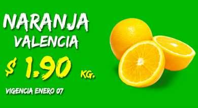 Miércoles de Plaza en La Comer enero 7: naranaja $1.90 el kilo y más