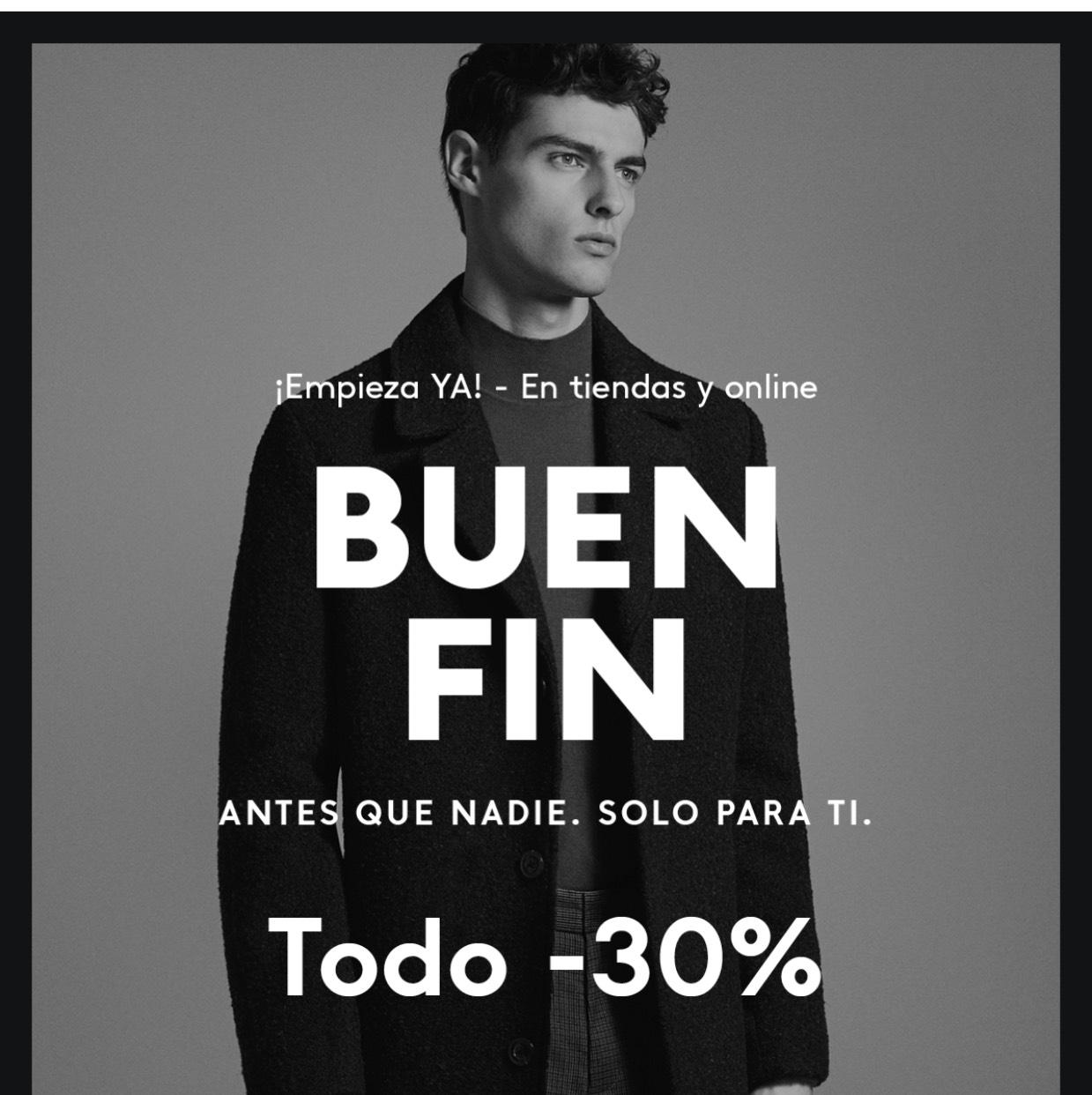 Ofertas Buen Fin 2017 Mango: Buen Fin 30% en toda la tienda