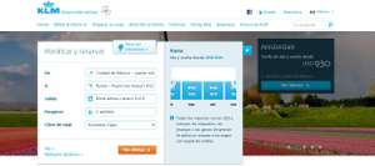 KLM: Vuelos Amsterdam, Roma, Paris a menos de 930 USD hasta mayo