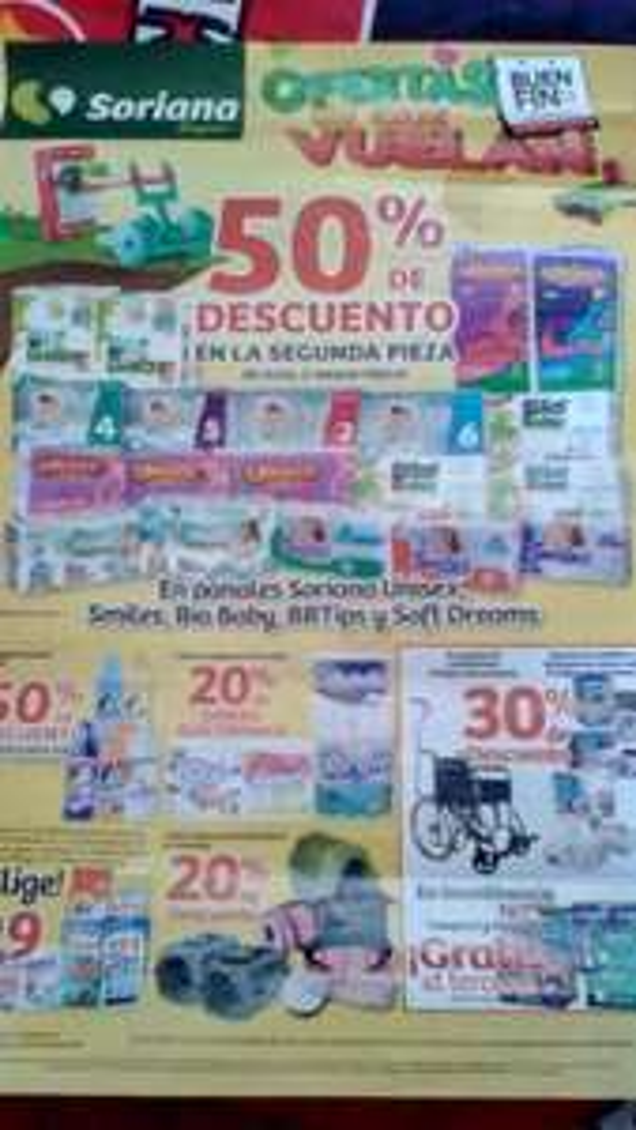 Folleto de ofertas del Buen Fin 2017 en Soriana Super