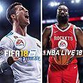 Microsoft Store: Tienda Xbox en linea: Paquete FIFA 18 mas NBA LIVE 18 edicion The one a $1000 para usuarios Gold