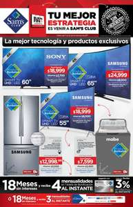Folleto de ofertas del Buen Fin 2017 en Sam's Club