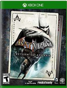 Amazon MX: Batman Return to Arkham Xbox One y PS4
