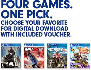 Far Cry4 | Destiny | NBA 2K15 | Little Big Planet3 | Lego Batman3 | Digitales PS4 $29 USD