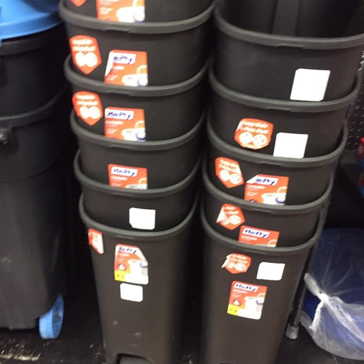Walmart Hidalgo: Bote de basura de pedal de 232.02