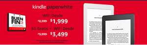 Amazon Buen Fin: Kindle Paperwhite