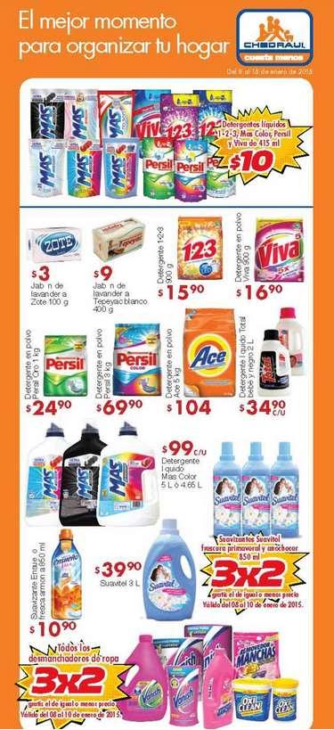 Folleto de ofertas Chedraui del 8 al 15 de enero