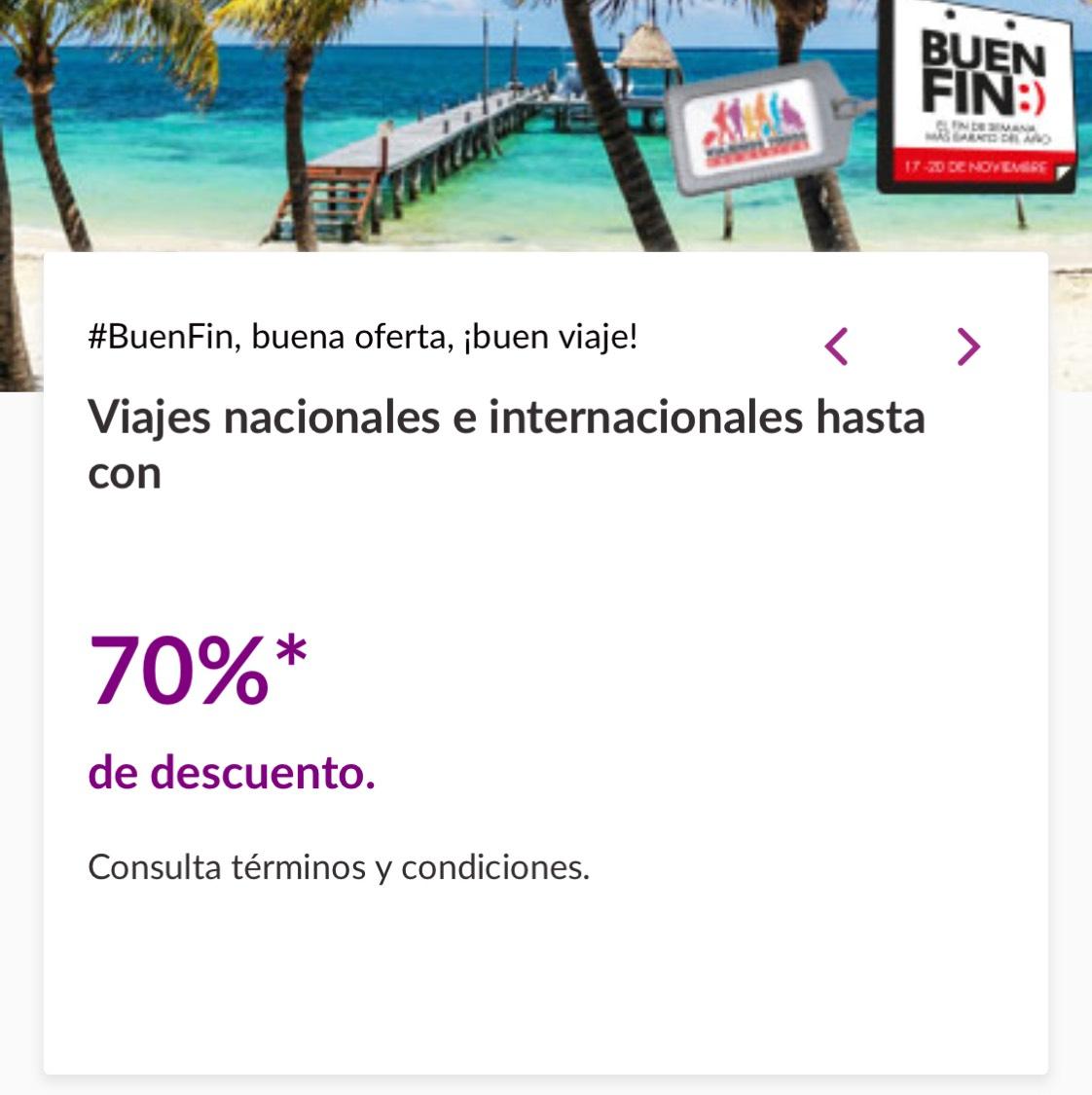 Volaris Viajes nacionales e internacionales hasta con 70%* de descuento.