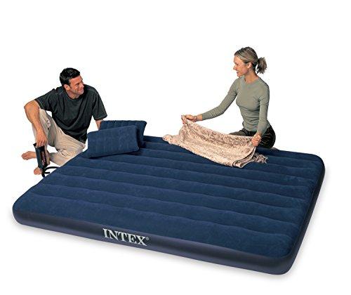 Ofertas Buen Fin 2017 Amazon: colchón inflable con bomba y almohadas. Queen size. Imperdible!