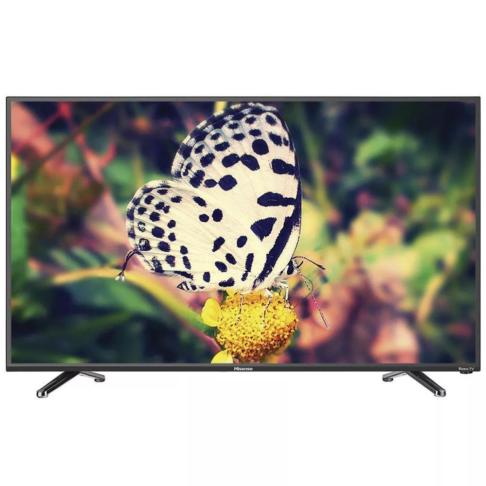 El buen fin 2017 en Elektra: Pantalla LED Hisense 50 Pulgadas Full HD 50H4D + Roku Integrado en la TV LED