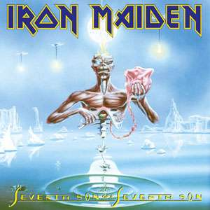 Mixup: Lps de Iron Maiden a $203 c/u. Iron Maiden, Killers, Somewhere In Time, Piece of Mind y Seventh Son of a Seventh Son.