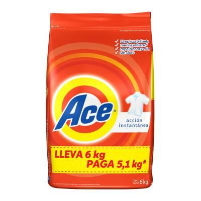 Superama Buen Fin: Detergente Ace 6kg 3x2