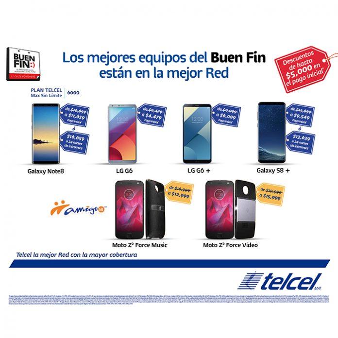 Telcel: LG G6 $4,479 al contratar el Plan TMSL 6000 ($599 x 24 meses)
